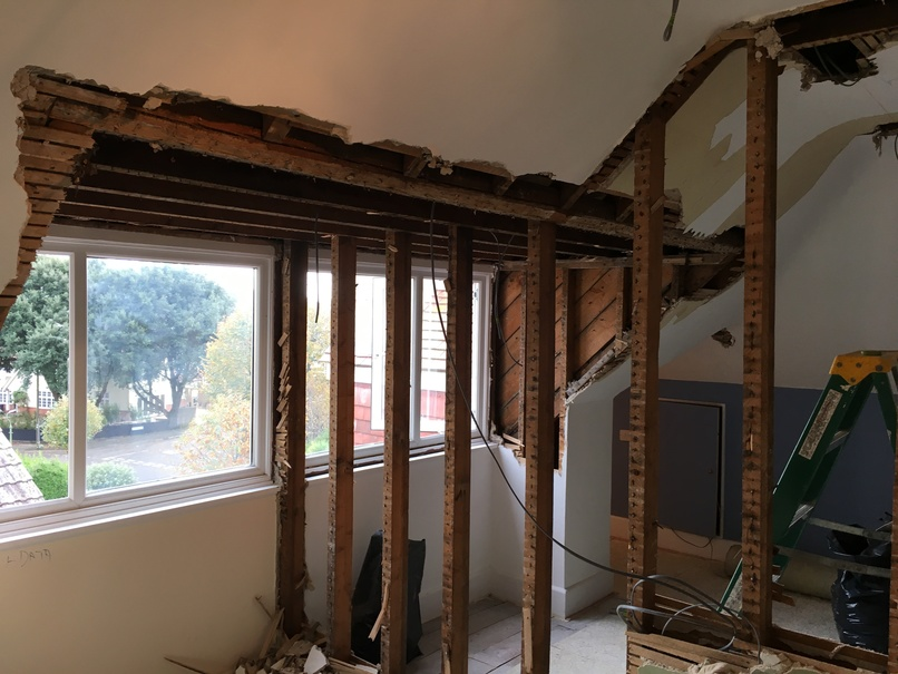 Roof dormer improvement works